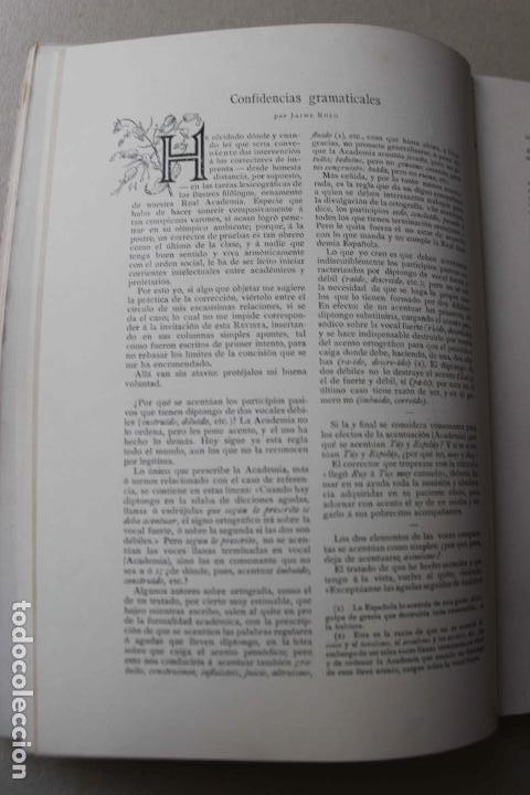 Libros antiguos: Revista grafica. Institut Català Arts del Llibre. 1901 num 419/1100. Canivell. Oliva de Vilanova - Foto 19 - 61851012