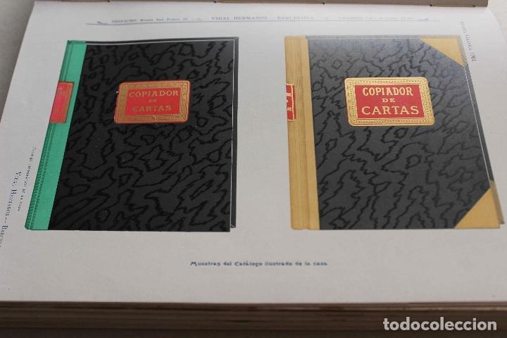 Libros antiguos: Revista grafica. Institut Català Arts del Llibre. 1901 num 419/1100. Canivell. Oliva de Vilanova - Foto 22 - 61851012