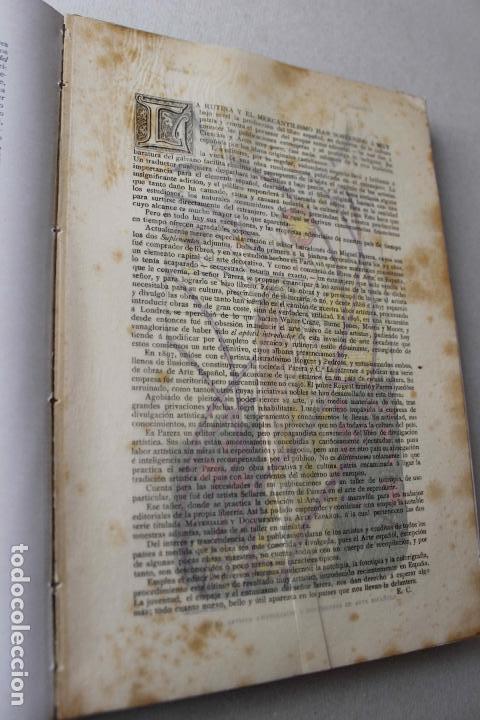 Libros antiguos: Revista grafica. Institut Català Arts del Llibre. 1901 num 419/1100. Canivell. Oliva de Vilanova - Foto 26 - 61851012