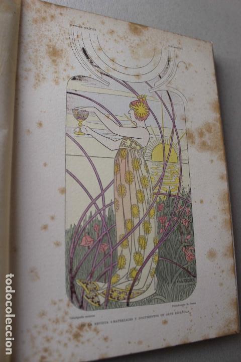 Libros antiguos: Revista grafica. Institut Català Arts del Llibre. 1901 num 419/1100. Canivell. Oliva de Vilanova - Foto 27 - 61851012