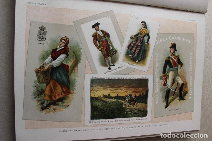Libros antiguos: Revista grafica. Institut Català Arts del Llibre. 1901 num 419/1100. Canivell. Oliva de Vilanova - Foto 28 - 61851012