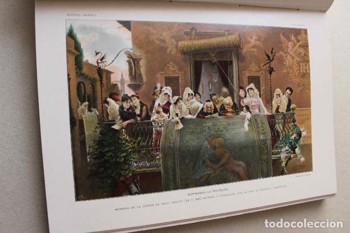 Libros antiguos: Revista grafica. Institut Català Arts del Llibre. 1901 num 419/1100. Canivell. Oliva de Vilanova - Foto 29 - 61851012