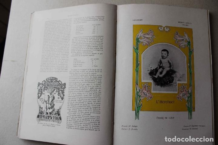 Libros antiguos: Revista grafica. Institut Català Arts del Llibre. 1901 num 419/1100. Canivell. Oliva de Vilanova - Foto 35 - 61851012