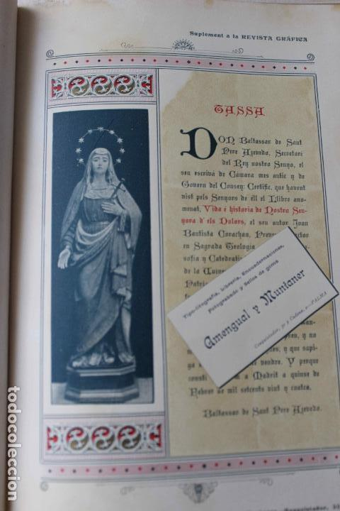Libros antiguos: Revista grafica. Institut Català Arts del Llibre. 1901 num 419/1100. Canivell. Oliva de Vilanova - Foto 37 - 61851012