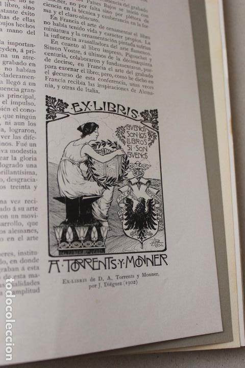 Libros antiguos: Revista grafica. Institut Català Arts del Llibre. 1901 num 419/1100. Canivell. Oliva de Vilanova - Foto 38 - 61851012