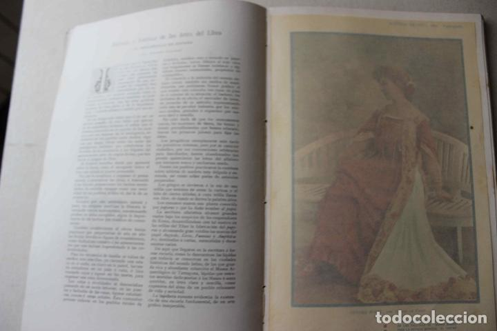Libros antiguos: Revista grafica. Institut Català Arts del Llibre. 1901 num 419/1100. Canivell. Oliva de Vilanova - Foto 40 - 61851012