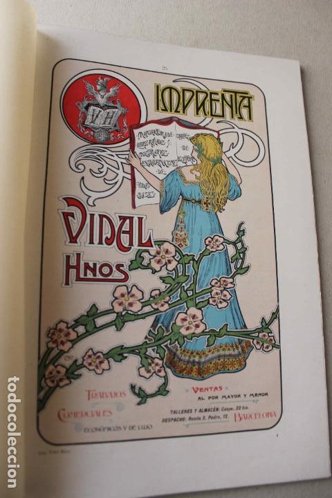 Libros antiguos: Revista grafica. Institut Català Arts del Llibre. 1901 num 419/1100. Canivell. Oliva de Vilanova - Foto 43 - 61851012