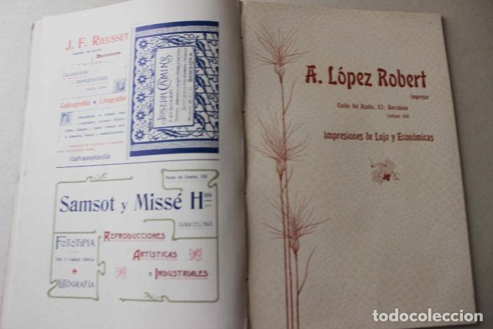 Libros antiguos: Revista grafica. Institut Català Arts del Llibre. 1901 num 419/1100. Canivell. Oliva de Vilanova - Foto 44 - 61851012