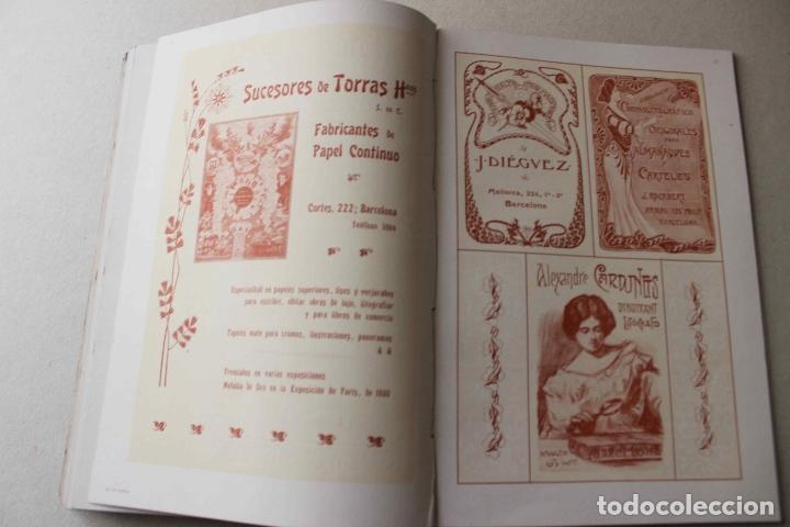 Libros antiguos: Revista grafica. Institut Català Arts del Llibre. 1901 num 419/1100. Canivell. Oliva de Vilanova - Foto 45 - 61851012