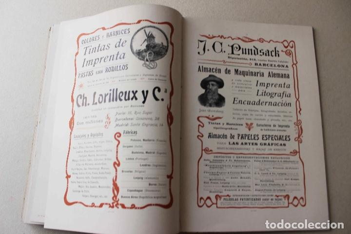 Libros antiguos: Revista grafica. Institut Català Arts del Llibre. 1901 num 419/1100. Canivell. Oliva de Vilanova - Foto 46 - 61851012