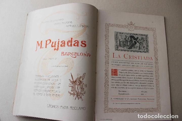 Libros antiguos: Revista grafica. Institut Català Arts del Llibre. 1901 num 419/1100. Canivell. Oliva de Vilanova - Foto 48 - 61851012