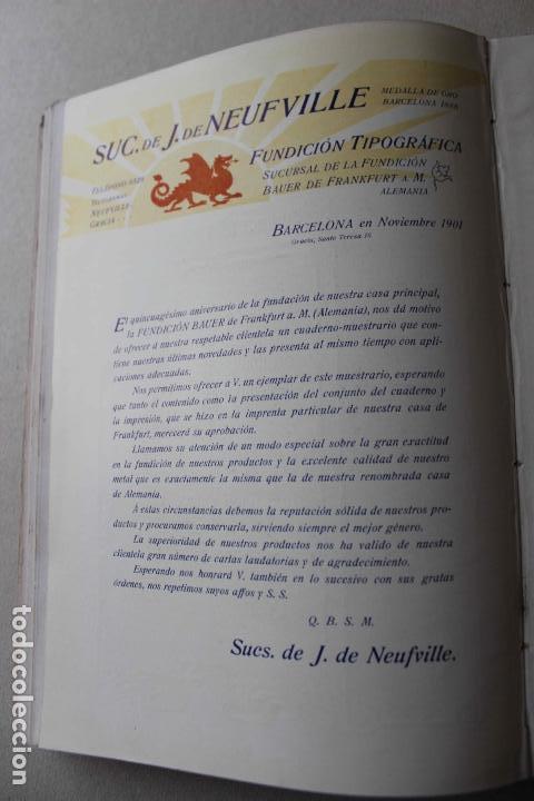 Libros antiguos: Revista grafica. Institut Català Arts del Llibre. 1901 num 419/1100. Canivell. Oliva de Vilanova - Foto 49 - 61851012