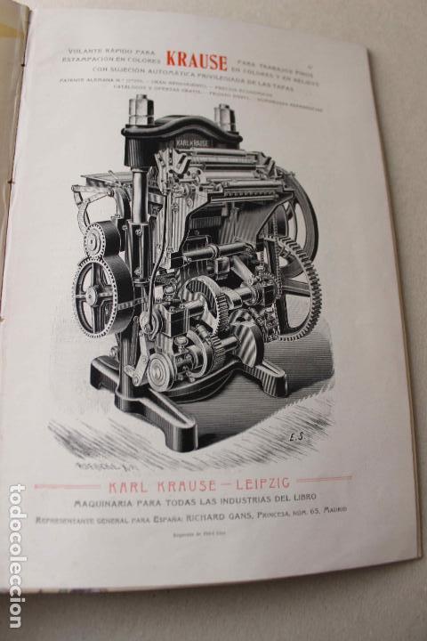 Libros antiguos: Revista grafica. Institut Català Arts del Llibre. 1901 num 419/1100. Canivell. Oliva de Vilanova - Foto 50 - 61851012
