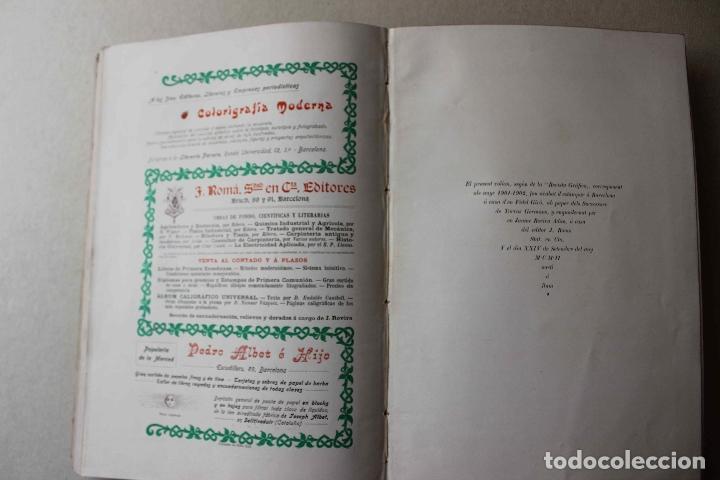 Libros antiguos: Revista grafica. Institut Català Arts del Llibre. 1901 num 419/1100. Canivell. Oliva de Vilanova - Foto 51 - 61851012