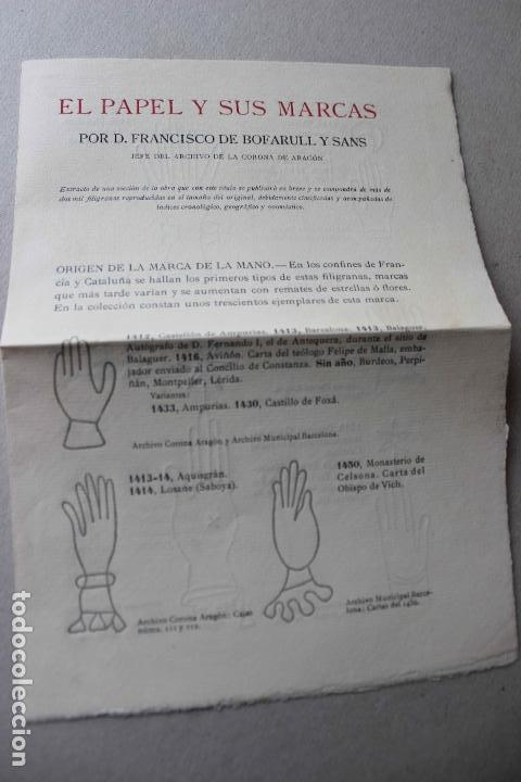 Libros antiguos: Revista grafica. Institut Català Arts del Llibre. 1901 num 419/1100. Canivell. Oliva de Vilanova - Foto 53 - 61851012