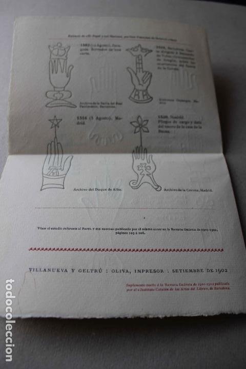 Libros antiguos: Revista grafica. Institut Català Arts del Llibre. 1901 num 419/1100. Canivell. Oliva de Vilanova - Foto 55 - 61851012