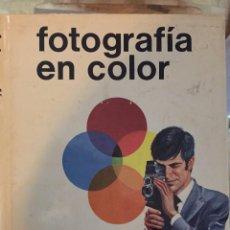 Libros antiguos: FOTOGRAFIA EN COLOR D.A. SPENCER. Lote 66289806