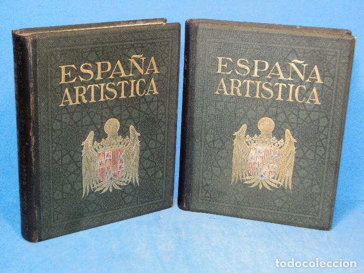 ESPAÑA ARTÍSTICA Y MONUMENTAL. (2 VOL. OBRA COMPLETA) (Libros Antiguos, Raros y Curiosos - Bellas artes, ocio y coleccion - Diseño y Fotografía)