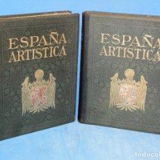 Libros antiguos: ESPAÑA ARTÍSTICA Y MONUMENTAL. (2 VOL. OBRA COMPLETA). Lote 68575969