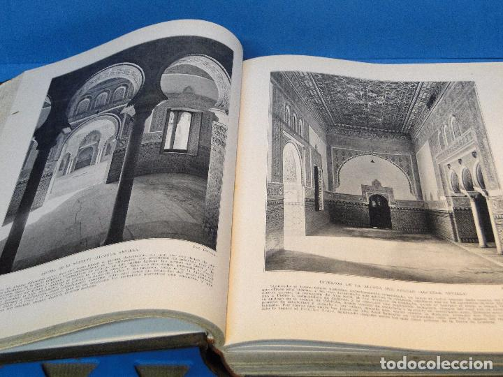 Libros antiguos: ESPAÑA ARTÍSTICA Y MONUMENTAL. (2 VOL. OBRA COMPLETA) - Foto 7 - 68575969