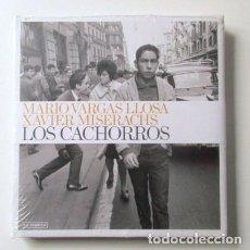 Libros antiguos: LOS CACHORROS, MARIO VARGAS LLOSA Y XAVIER MISERACHS, ED LA FÁBRICA, PALABRA E IMAGEN, PRECINTADO. Lote 69010457