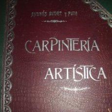 CARPINTERÍA ARTÍSTICA, Modernismo.