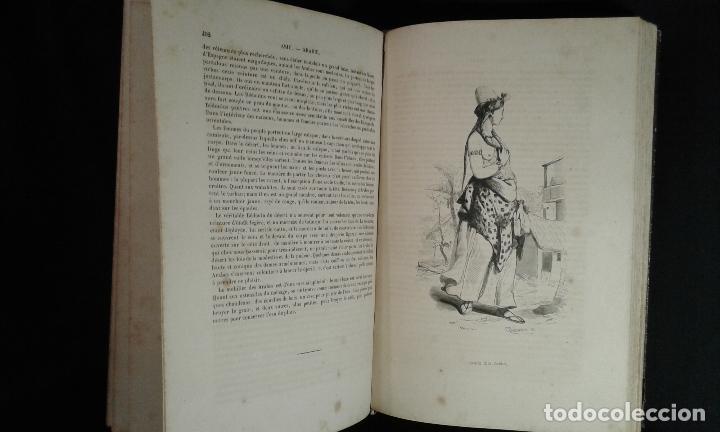 Libros antiguos: Histoire et iconographie des Moeurs, Usages et Costumes….Asie. Mertens. Bruxelles. 1846. - Foto 6 - 70388077