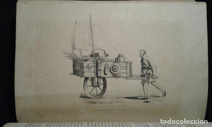 Libros antiguos: Histoire et iconographie des Moeurs, Usages et Costumes….Asie. Mertens. Bruxelles. 1846. - Foto 8 - 70388077