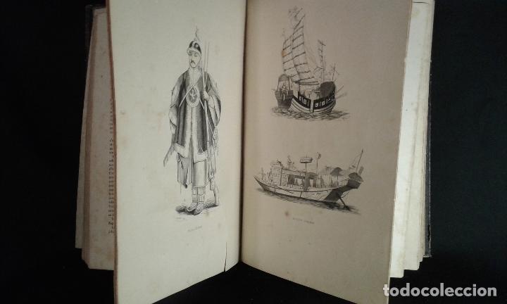 Libros antiguos: Histoire et iconographie des Moeurs, Usages et Costumes….Asie. Mertens. Bruxelles. 1846. - Foto 9 - 70388077