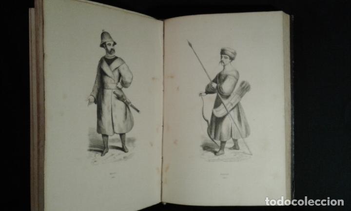 Libros antiguos: Histoire et iconographie des Moeurs, Usages et Costumes….Asie. Mertens. Bruxelles. 1846. - Foto 10 - 70388077