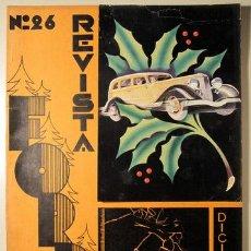 Libros antiguos: (VANGUARDIAS - PUBLICIDAD - DISEÑO - SINDREU, C.) - REVISTA FORD Nº 26. DICIEMBRE 1933. Lote 76819814
