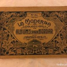 Libros antiguos: ALBUMS PARA BORDAR. Lote 77102627