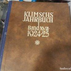 Libros antiguos: ANUARIO KLIMSCHS 1924-25. Lote 78038513