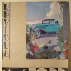 Libros antiguos: (VANGUARDIAS - PUBLICIDAD - DISEÑO) - REVISTA FORD Nº 22. ABRIL 1933. Lote 76819802