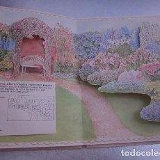 Libros antiguos: LIBRO POP UP. EL JARDÍN CLÁSICO/ THE OLD-FASHIONED GARDEN. JARDINERÍA.. Lote 82264568