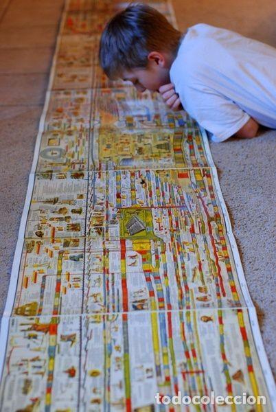 Libros antiguos: Libro Panorama La Historia del Mundo.Libro Acordeón - Foto 2 - 82377164
