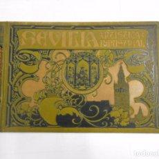 Libros antiguos: SEVILLA ARTISTICA E INDUSTRIAL. LUJOSO ALBUM DE FOTOGRAFIAS DE LA CIUDAD. 1908. TDKLT. Lote 82537604