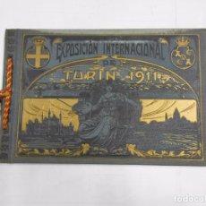 Libros antiguos: EXPOSICION INTERNACIONAL DE TURIN 1911. - LUJOSO ALBUM DE FOTOGRAFIAS. TDK288 . Lote 82546108