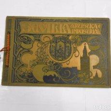 Libros antiguos: SEVILLA ARTISTICA E INDUSTRIAL. LUJOSO ALBUM DE FOTOGRAFIAS DE LA CIUDAD. 1908. TDKLT. Lote 82551692