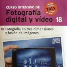 Libros antiguos: CURSO INTENSIVO FOTOGRAFIA DIGITAL Y VIDEO Nº 18 EL MUNDO. Lote 114430386