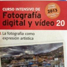 Libros antiguos: CURSO INTENSIVO FOTOGRAFIA DIGITAL Y VIDEO Nº 20 EL MUNDO. Lote 82626964