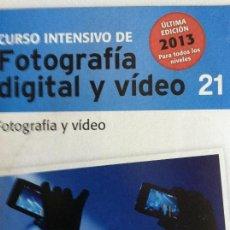 Libros antiguos: CURSO INTENSIVO FOTOGRAFIA DIGITAL Y VIDEO Nº 21 EL MUNDO. Lote 82627000