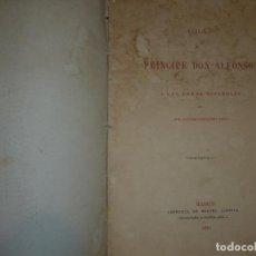 Libros antiguos: ODA AL PRINCIPE DON ALFONSO Y A LAS DAMAS ESPAÑOLAS A.FERNANDEZ1870 MADRID. Lote 82901108