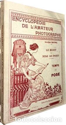 Libros antiguos: Fotografía antigua : Encyclopedie de l´amateur photographe (Le sujet; Mise au point.. (1897) - Foto 1 - 83106624