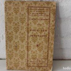 Libros antiguos: C. PUYO. E. WALLON. POUR LES DÉBUTANTS. PHOTO CLUB DE PARIS. BIBLIOTHÈQUE REVUE PHOTOGRAPHIE 1904. Lote 86016820