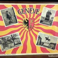 Libros antiguos: ÁLBUM DE FOTOGRAFÍAS GENÈVE. JULLIEN FRÈRES. S/F.. Lote 86732168