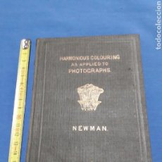 Libros antiguos: EXTRAORDINARIO ANTIGUO DE APRENDIZAJE DE FOTOGRAFIATHE PRINCIPLES AND PRACTICE HARMONIOUS COLOURING. Lote 91400239