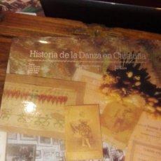 Libros antiguos: HISTORIA DE LA DANZA EN CATALUÑA. CAIXA DE BARCELONA. Lote 91799170