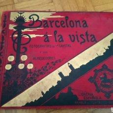 Libros antiguos: BARCELONA A LA VISTA 1900. Lote 91806198