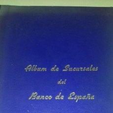Libros antiguos: ALBUM DE SUCURSALES DEL BANCO DE ESPAÑA FOTOGRAFIA RETRATOS 1936. Lote 92232079